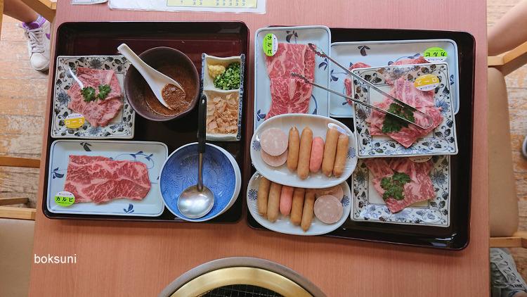 사가 여행 (2) - 시이바산소 료칸(우레시노)