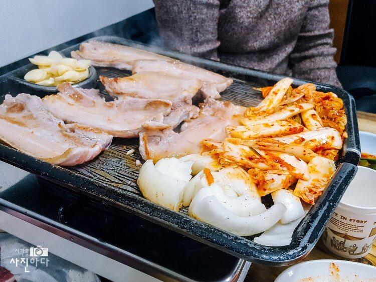 [내맘대로 맛집 - 종로맛집, 을지로맛집, 방산시장맛집] 삼겹살과 김치찌개의 만남, 은주정