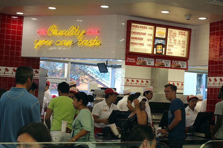 한미일 3중국 인기 햄버거 체험 후기 - 인앤아웃버거, 모스버거, 오케이버거