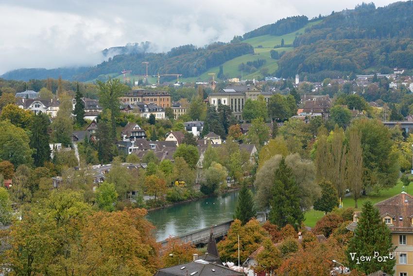 베른 연방의사당 뷰포인트와 멋진 광경  Bern Swiss 스위스여행