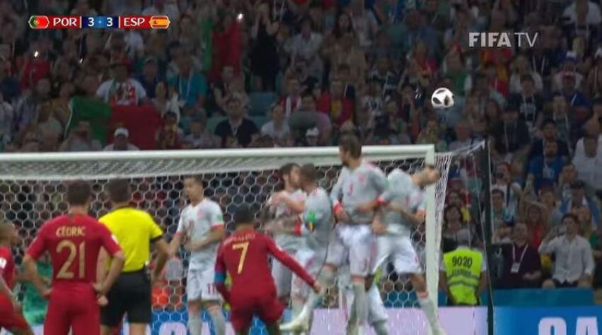 러시아월드컵 스페인 대 포르투갈 빅매치 꿀잼