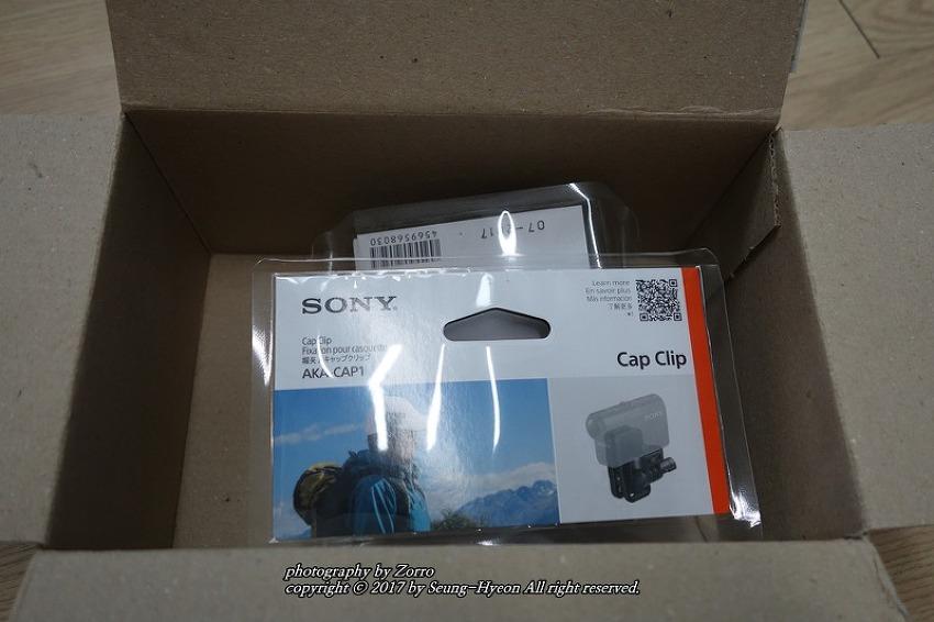 소니 액션캠 모자마운트 AKA-CAP1