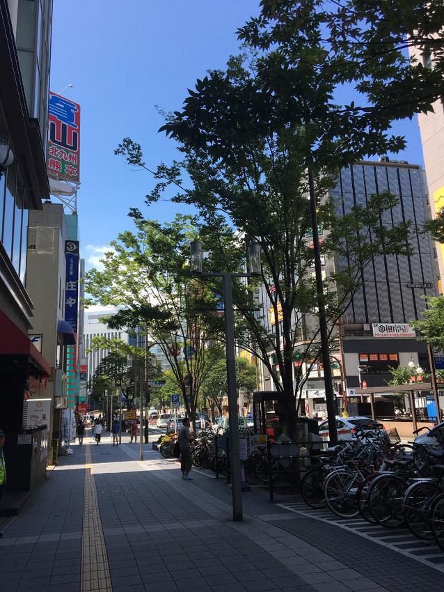 남자 혼자 후쿠오카 하카타역에서 밥먹기