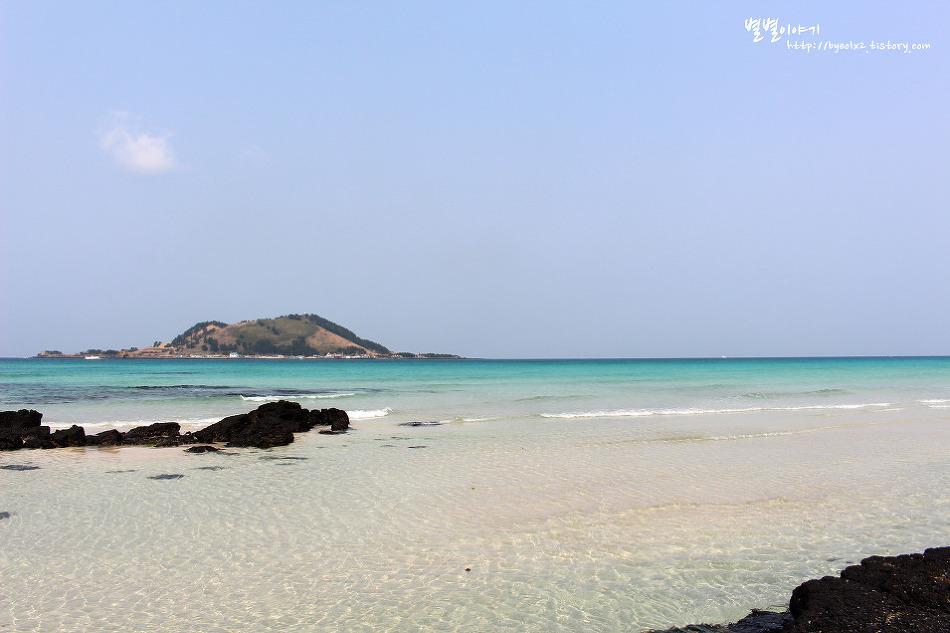 [제주] 아름다운 에메랄드빛 바다 ::협재해변