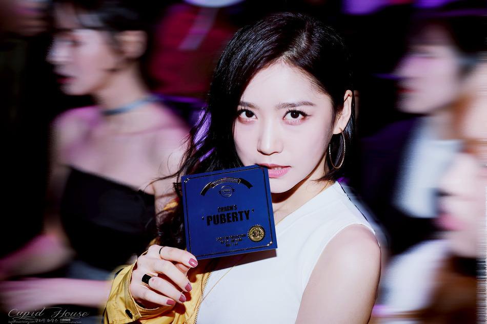 170331 헬로비너스 Hellovenus(유영 YooYoung) 서울패션위크 참스 charms 패션쇼 직찍 7P