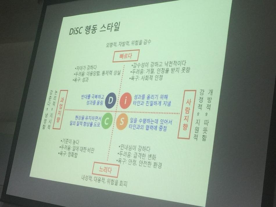 아이템베이 CS마인드 DISK 성향분석 교육 받았어요~!