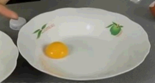 달걀 노른자 제거법