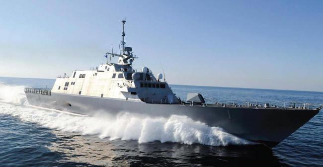 미 해군 신형 연안전투함 USS 프리덤호, 싱가포르 배치