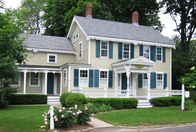 Derivatives for Exterior victorian house parts