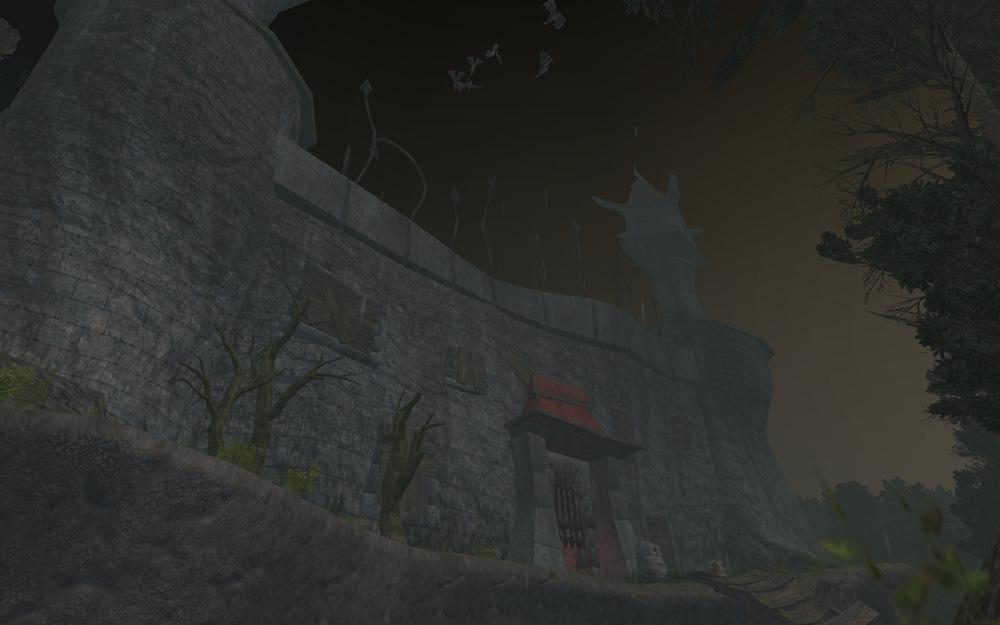 스산한 고성의 냄새를 팍팍 풍기는 Nektropos Castle