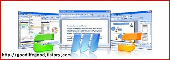 마이크로 소프트 오피스 2007 (MS Office 2007) 엑셀, 파워포인트, 워드 씽크프리 오피스로 무료 편집하세요