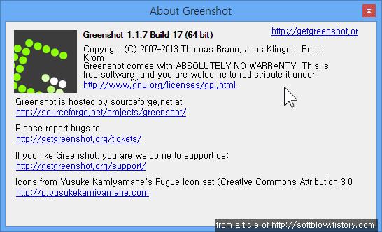 About Greenshot