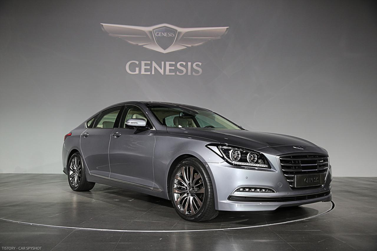 All-new Hyundai Genesis - 사진 및 제원