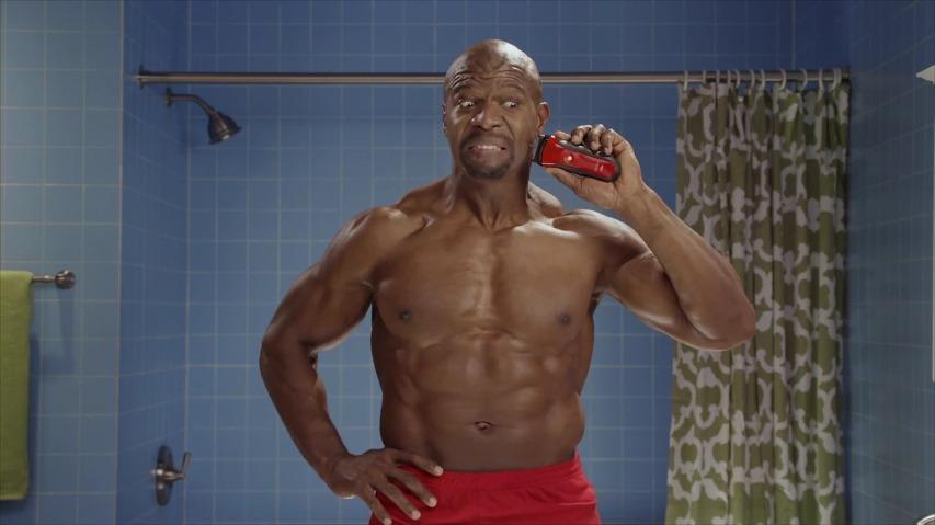 테리 크루즈(Terry Crews)가 등장한 올드스파이스(Old Spice)의 전기 면도기 TV광고'Get shaved in the face' [한글자막]
