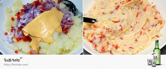 체다치즈,감자요리