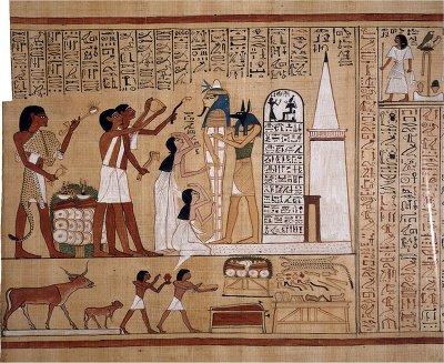 25. 이집트 종교, 매장관습