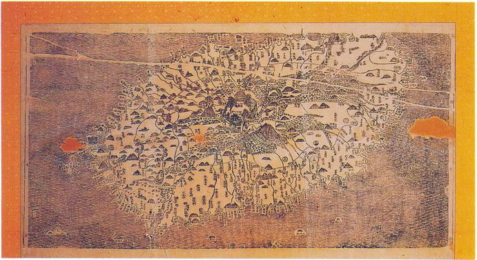 탐라국 지도
