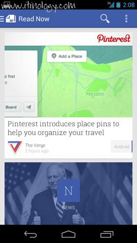 Google Play Newsstand read now