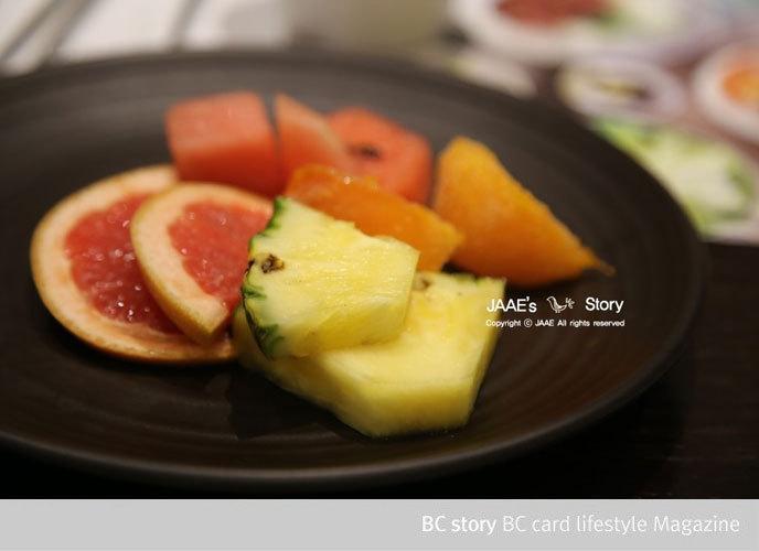 자연별곡 디저트 과일