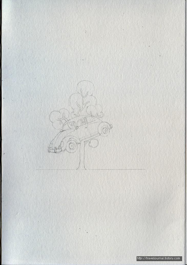 dimo beetle tree 스케치