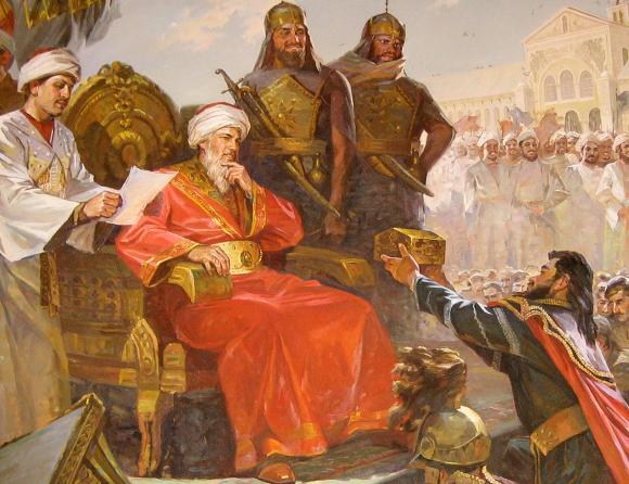 알-왈리드 1세 Al-Walid I Umayyad Caliph