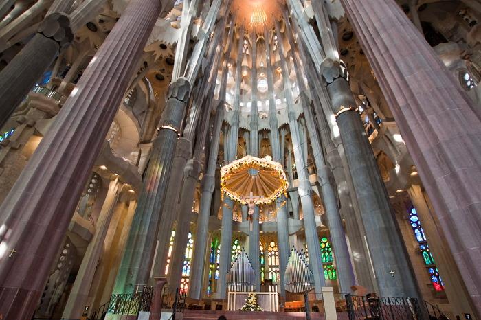 사그라다 파밀리아 성당 Sagrada Familia 내부