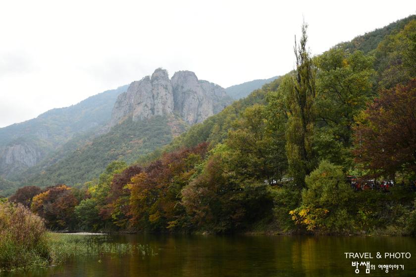 주왕산 단풍여행. 폭포, 기암들과 함께하는 아름다운 가을 풍경
