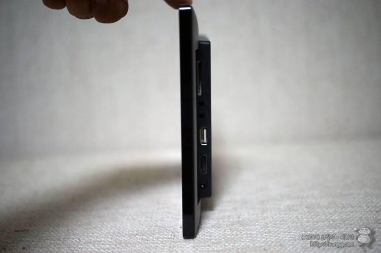 서브모니터, 미니모니터, 디지털액자, pf1040ips, 디자인
