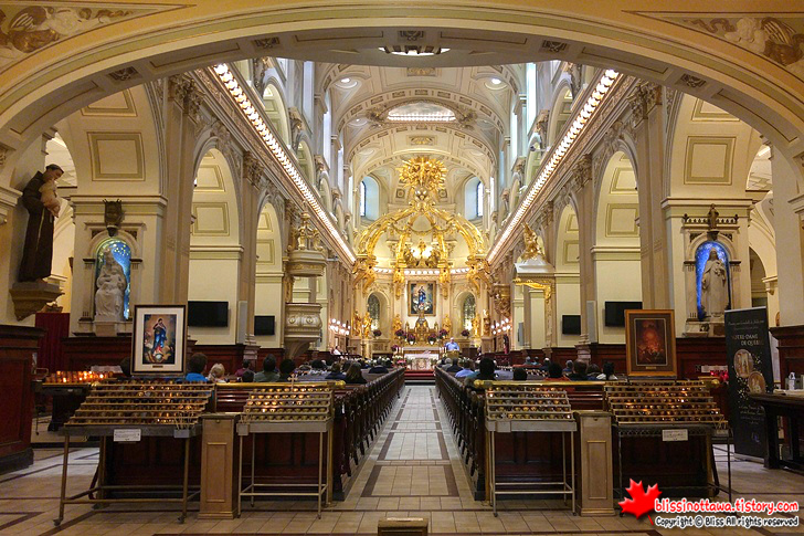 캐나다 동부 퀘벡시티 여행 노르트담 대성당