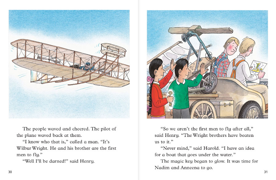 the flying machine story