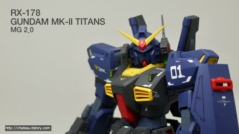 RX-178 Gundam MK II - TITANS ( MG 2.0 )