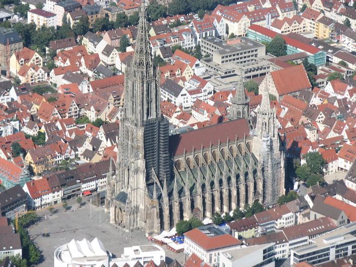 울름 대성당 Ulmer Münster 외부