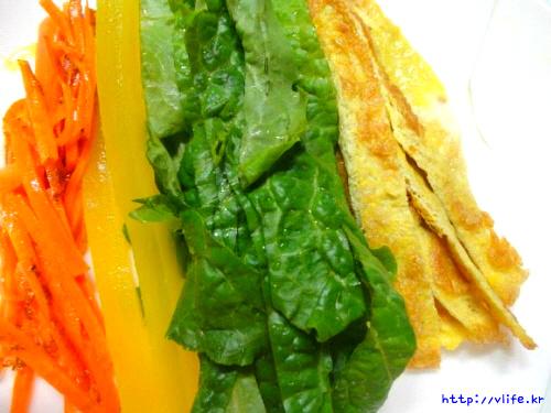 김밥 속재료