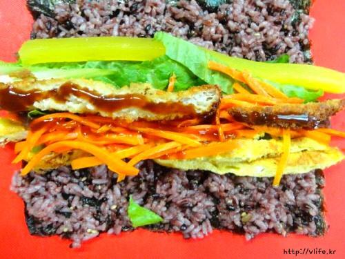 김밥 만드는법