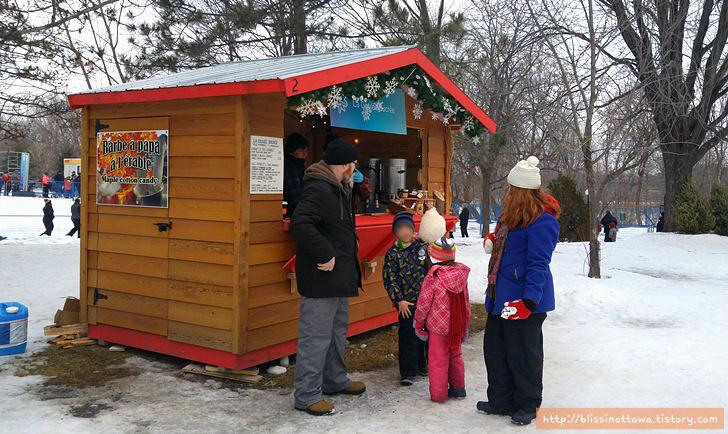 캐나다 겨울 축제 오타와 윈터루드 winterlude 메이플시럽