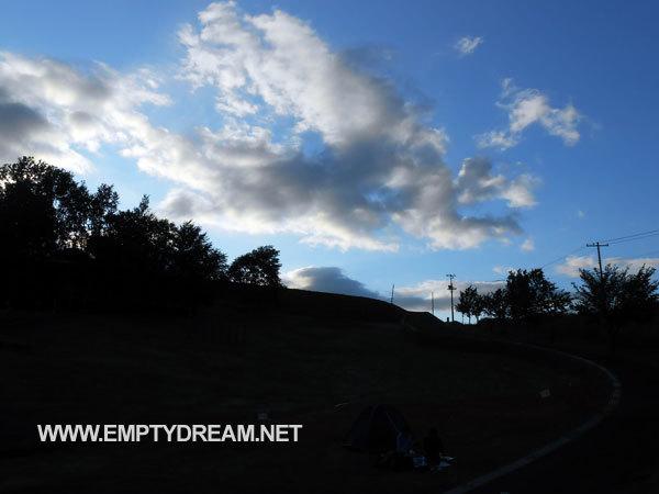 가미후라노 히노데 공원 캠프장 - 홋카이도 자전거 캠핑 여행 7
