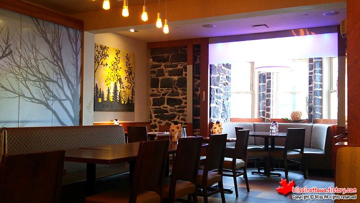 캐나다 퀘벡 시티 레스토랑