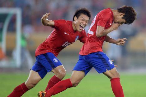 축구-한일전-윤일록골