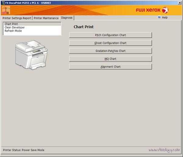 Fuji Xerox DocuPrint M255z driver