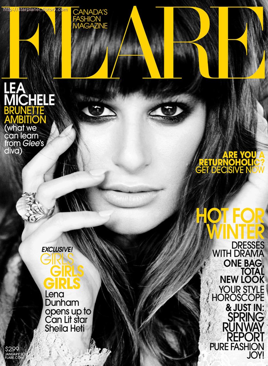 Fashion Book Cover Quotes : 스타플래닛 lea michele 레아 미셀 flare magazine cover 잡지표지