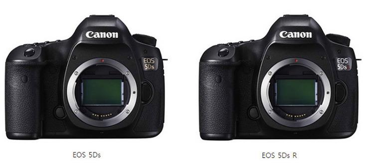 캐논 EOS 5Ds, EOS 5Ds R