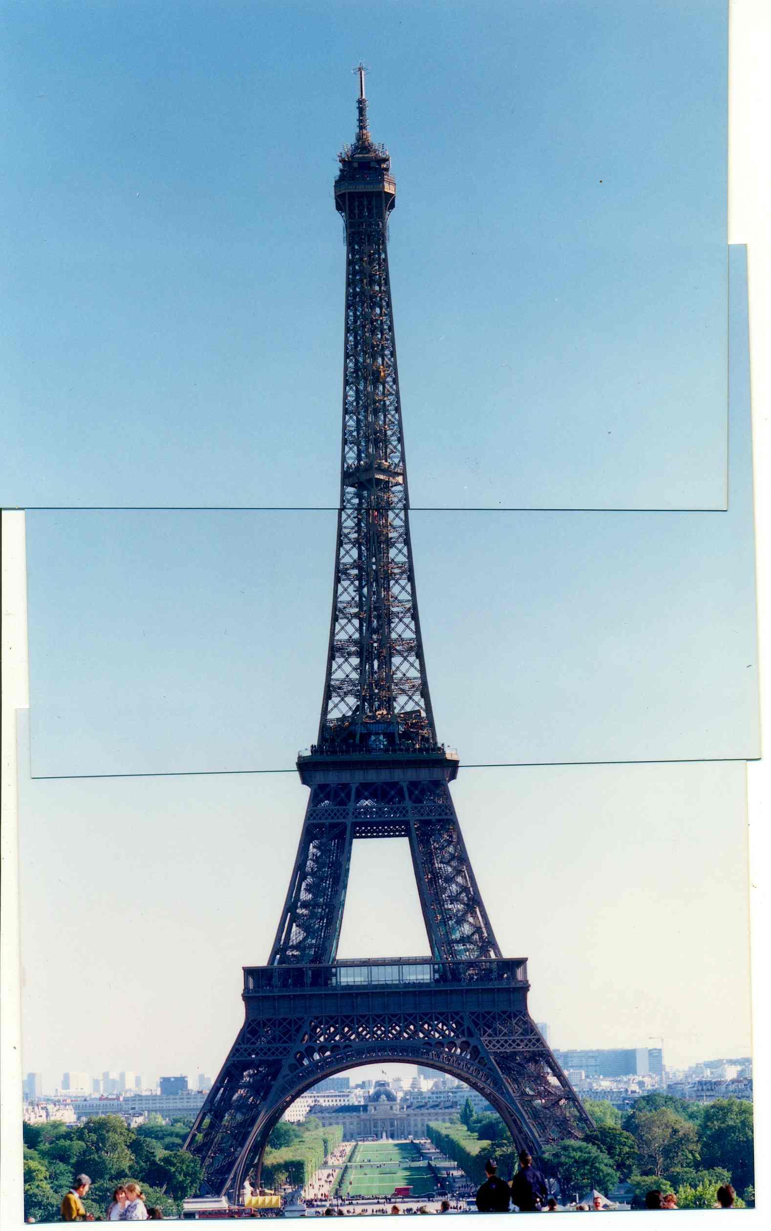 1996년 프랑스 파리 에펠탑