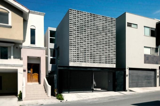 *멕시코 싱글가족 주택 리노베이션-[ S-AR ] Casa 9X20, Monterrey, Mexico