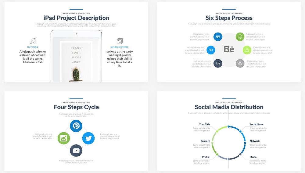 소셜미디어(SNS) 프레젠테이션 용 무료 파워포인트(PPT) 템플릿 - Free Powerpoint(PPT) Template Good For Social Media Presentation