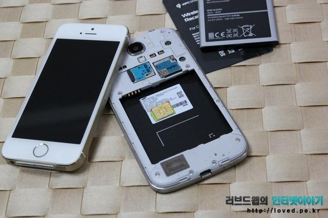 아이폰5S 나노 유심 자르기 어댑터와 커터기 없이 유심 재활용 하기