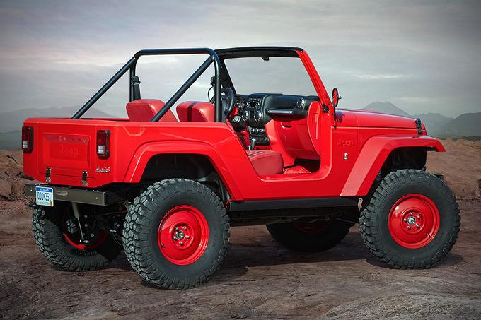 *지프 컨셉카 jeep shortcut concept multipurpose vehicle