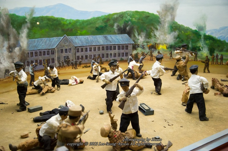 포항여중 학도의용군 전투