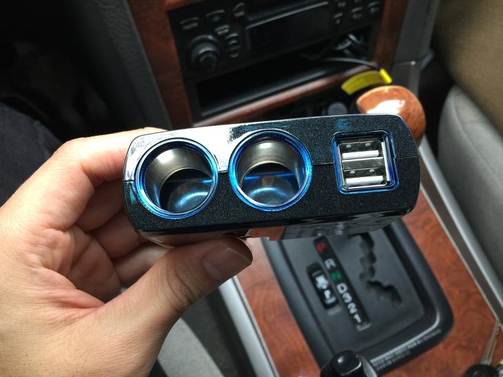 차량용 시거잭 멀티소켓
