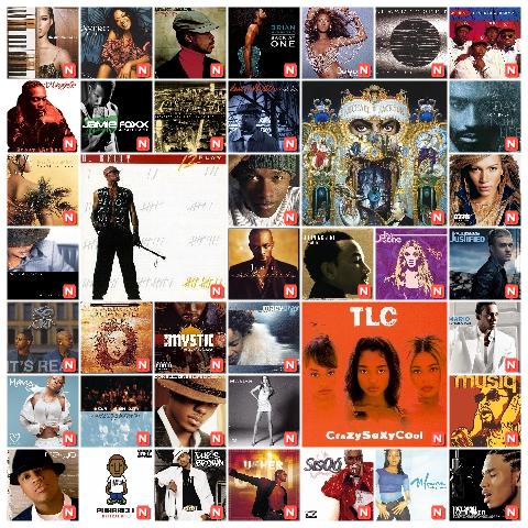 'My Favorite R&B Albums' - Daum파이