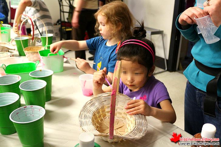 캐나다 오타와 봄 축제 ; 화분 만들기